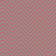 Trendy chevron patterned background red and grey — 图库照片