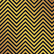 Trendy chevron patterned background, golden, black and white — Stock Photo