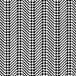 Trendy chevron patterned background, black and white — Stock Photo