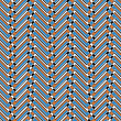 Trendy chevron patterned background, — Stockfoto