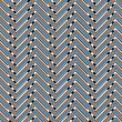 Trendy chevron patterned background, — Stock Photo #7751887