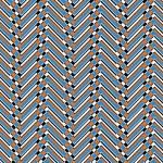 Trendy chevron patterned background, — Stock Photo
