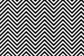 Trendy chevron patterned background black and white — 图库照片