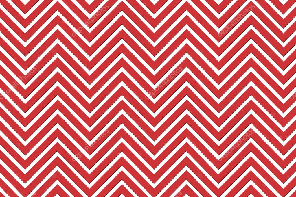 Trendy chevron patterned background red and white  Stock Photo #7751192