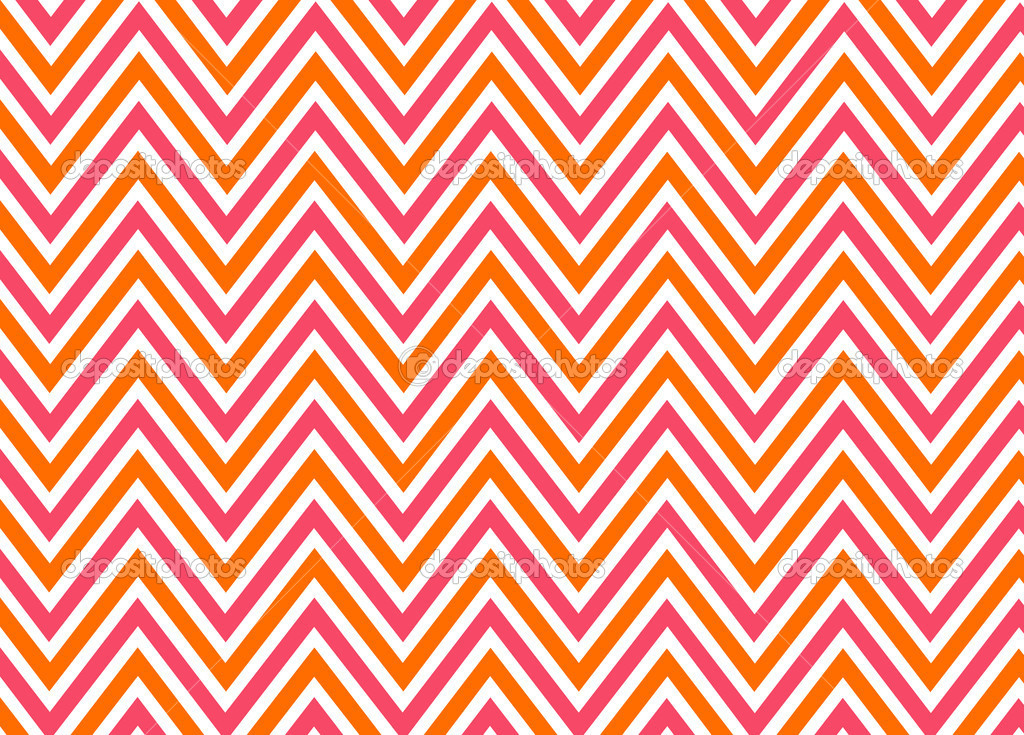 Bright chevron red, orange and white, pattern. — Stock Photo #7851494
