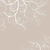 Elegant och delikat svart bakgrund med gyllene virvlar — Stockfoto
