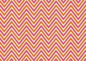 Heldere chevron rood, oranje en wit, vector patroon. — Stockfoto