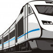 Speed train - Stock Vector