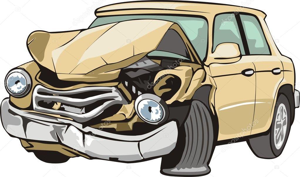 damaged car clipart - photo #3