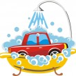Car wash — Stock Vector #7755470