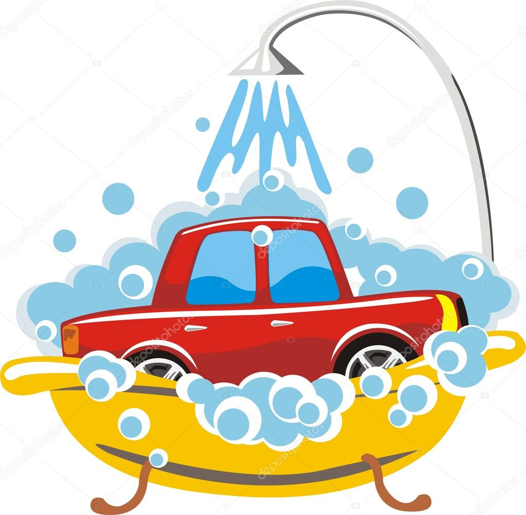 Car wash sign — Stock Vector #7755470