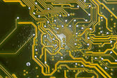 Stylized electronic board — Stock Photo