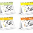 2012 desk calendar — Stock Photo #7587485
