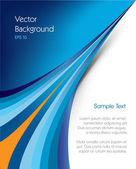 Brožura pozadí — Stock vektor