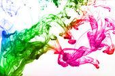 Multicolor ink drop — Stock Photo