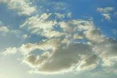 Light gray clouds — Stock Photo