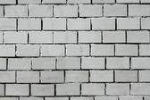 White painted brick wall — Stock Photo