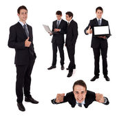 Collection of bussiness — Stock Photo