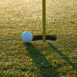 Close golf shot - Foto de Stock