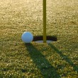 Close golf shot - Stock Photo