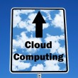 Royalty-Free Stock Photo: Cloud computing