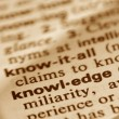 Knowledge - Stock Photo