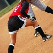 Softball player — Stock Photo #7546500