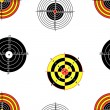 Stock Photo: Seamless background of Targets