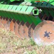 Stock Photo: Disc harrow