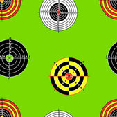 Seamless background of Targets — Stock Photo