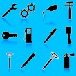 Auto Car Repair Service Icon Symbol — Stock Photo