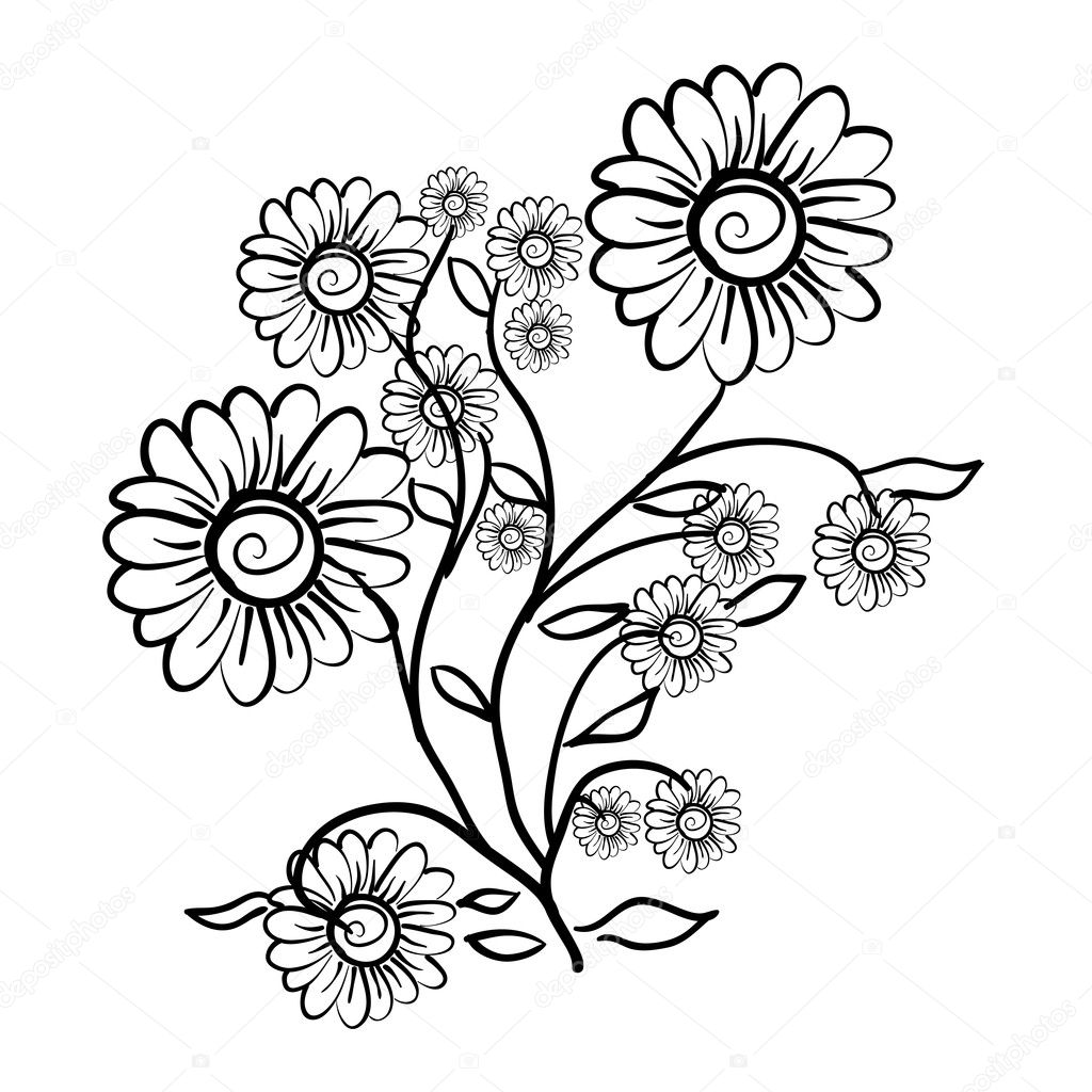 Flower Designs Patterns to Draw Flower Pattern For Design as a