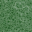 Seamless pattern. Computer circuit board. — Stock Photo