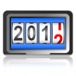 2012 New Year counter, vector. — Stock Photo #7629265