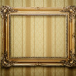 Stock Photo: Antique picture frame with clipping path