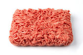 Fresh raw minced meat — Stock Photo