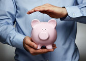 Savings protection — Stock Photo