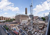 The Tate Modern Project panoramic — Stock Photo