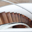 Modern curved staircase — Stock Photo #7491883