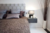 Bedroom detail — Stock Photo