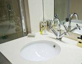 Lavabo di marmo a mano — Foto Stock