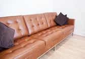 革のソファ — ストック写真