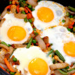 Fried eggs — Stockfoto