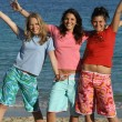 Teens at the beach — Foto Stock #6950108