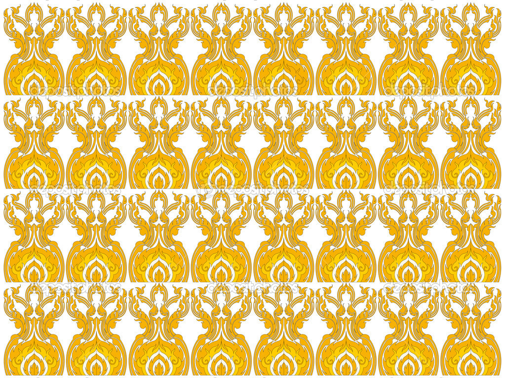 Thai patterned for wallpaper and your ad  Stock Photo #6956193