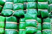 Thai dessert made from rice — Stock Photo