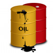 Oil gasoline open — Image vectorielle