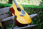 Gitar müzik — Stok fotoğraf