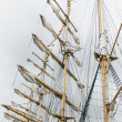 Stock Photo: Masts and Sails