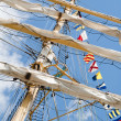 Masts and Sails — Stock Photo